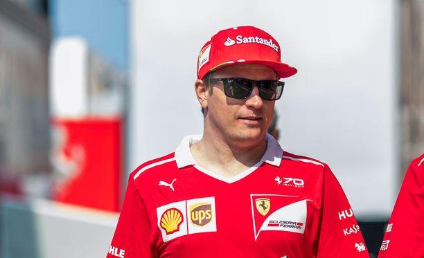 Kimi Räikkönen menetti asemansa maailman todistettavasti suosituimpana F1-kuljettajana.
