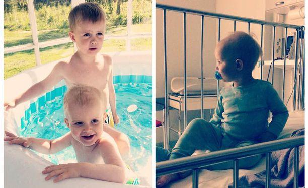 4-vuotias Eeli ja vajaa 2-vuotias Eemeli olivat keskiviikkoiltana uimassa, kun Eemeli painui pinnan alle.