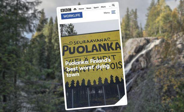 BBC:n jutun myötä myös muut maat ovat kiinnostuneet Puolangasta.