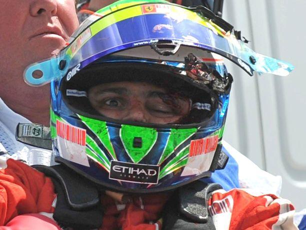 Felipe Massan onnettomuus järkytti F1-väkeä kymmenen vuotta sitten.