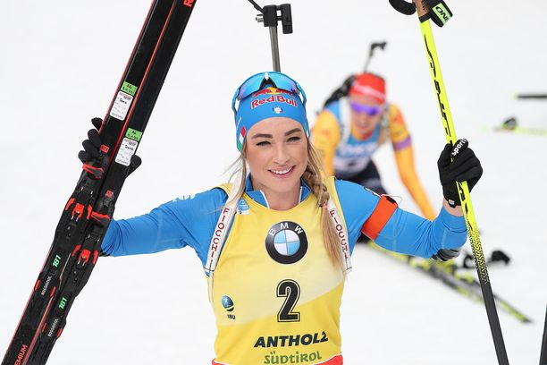 Dorothea Wierer on voittanut maailmancupin kokonaiskilpailun kahtena peräkkäisenä kautena.