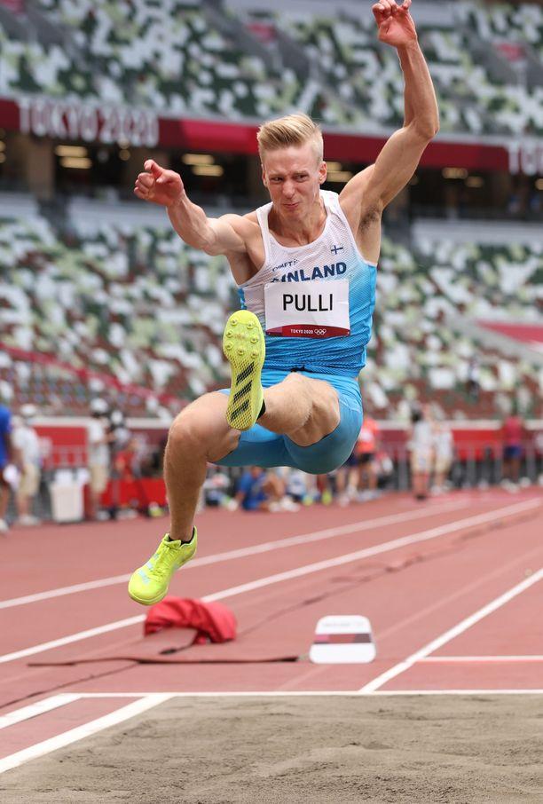 Kristian Pulli kilpaili olympiafinaalissa.