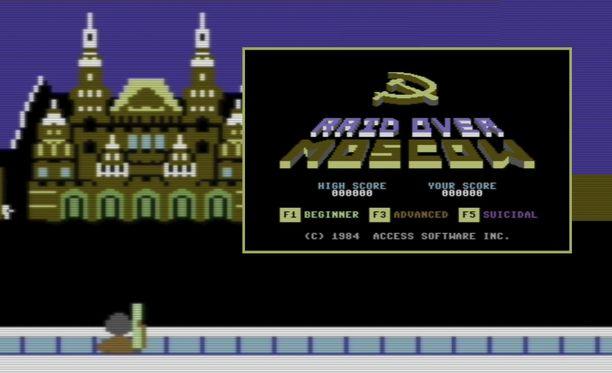 Raid over Moscow oli vuoden 1985 puhutuin peli Suomessa.