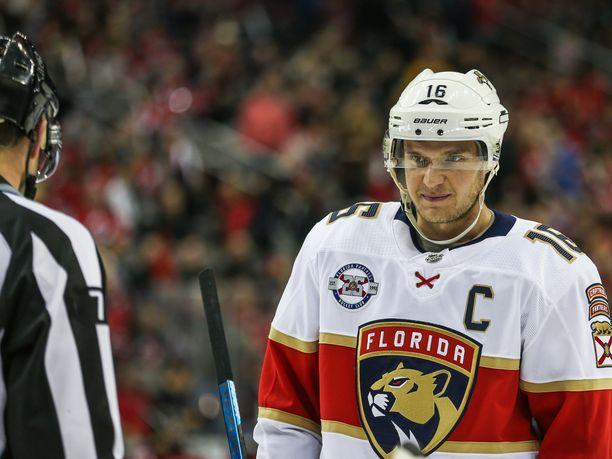 Kapteeni Aleksander Barkov on pelaaja, jonka mukana Florida Panthers nousee tai kaatuu.