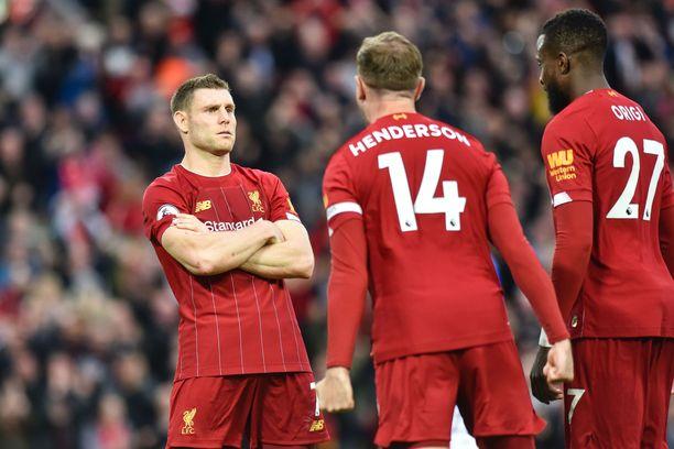 James Milner ampui Liverpoolille voiton Leicesteristä lokakuun kohtaamisessa.