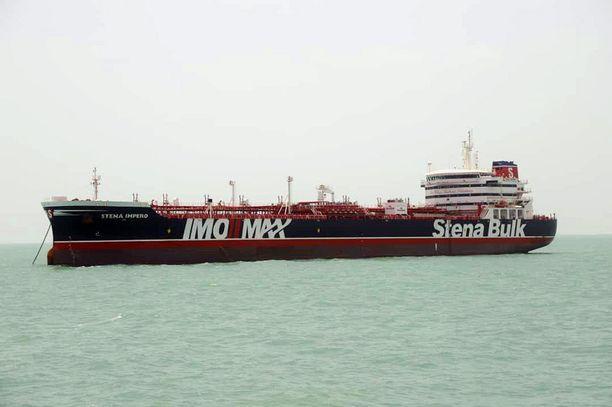 Stena Impero ehti olla jumissa satamassa yli kaksi kuukautta.