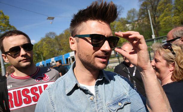 Venäjä on joutunut Euroviisu-kisoissa skandaalin keskelle. Kuvassa Venäjän laulaja Sergei Lazarev.