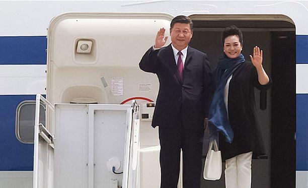 Xi Jinping on parhaillaan vierailulla Yhdysvalloissa.