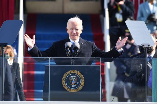 Joe Bidenilla on neljä vuotta aikaa hioa omia puheenlahjojaan.