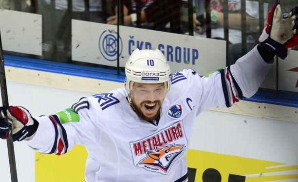 Sergei Mozjakin on KHL:n ykkönen.