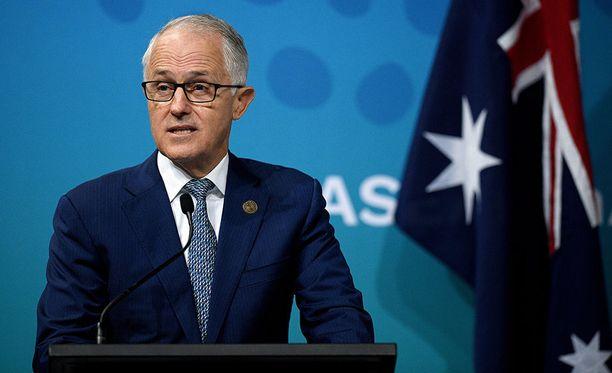 Australian pääministeri Malcolm Turnbull ilmoitti tiistaina maan karkottavan kaksi Venäjän diplomaattia johtuen Britanniassa tehdystä hermomyrkkyiskusta.