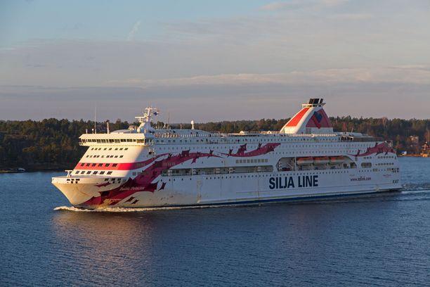 Noin 30-vuotias nainen löytyi kuolleena Tallink Siljan Baltic Princess -laivalta.