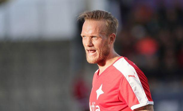 Mika Väyrynen järjesti maalin ja ampui HIFK:n tasoituksen.
