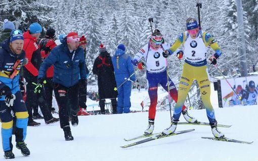 Ovi Ruotsin hiihdon ja ampumahiihdon välillä käy jälleen: nyt leiriä vaihtaa kärkivalmentaja