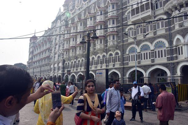 Taj Mahal Palace-hotelli oli yksi vuoden 2008 terrorihyökkäysten kohteista.