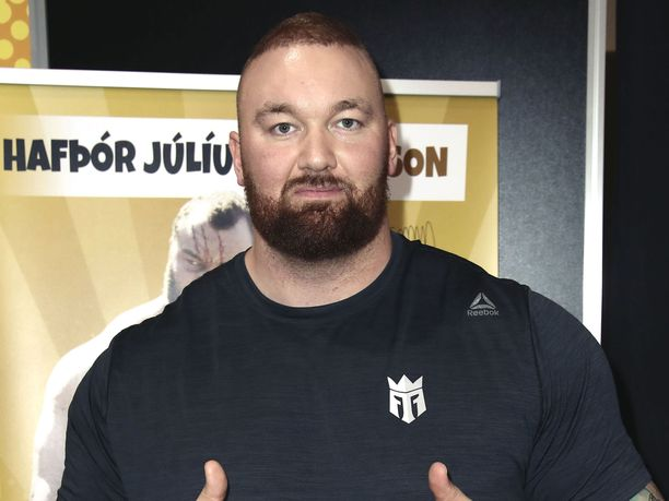 Hafþór Júlíus Björnsson on pudottanut painoaan jo 36 kiloa nyrkkeilytreeneissä.