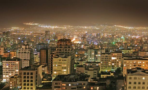 Onnettomuus tapahtui Iranin pääkaupungissa Teheranissa.