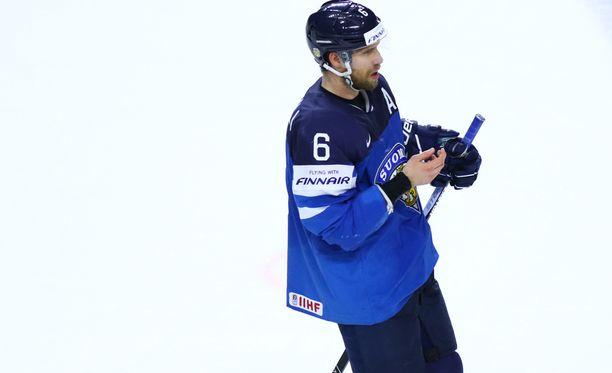 Topi Jaakola on pelannut urallaan seitsemät MM-kisat, viimeksi toissa kaudella.