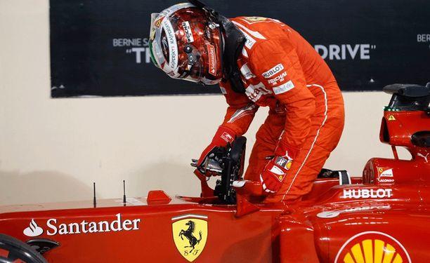Fernando Alonso viihtyi Ferrarilla viiden vuoden ajan.