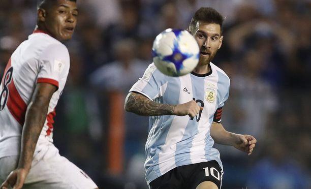 Leo Messin kipparoima Argentiina on pakkovoiton edessä.