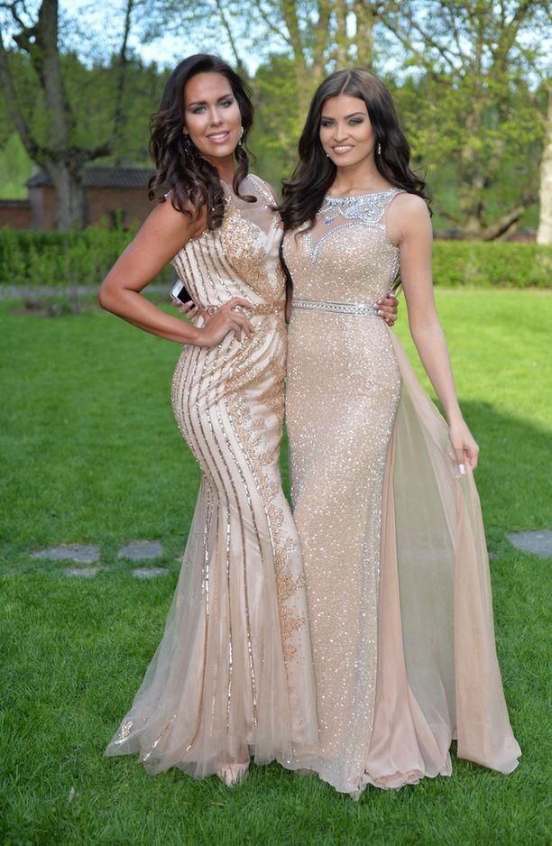 Saara Ahlberg ja Carola Miller ovat vuoden 2015 perintöprinsessoja.