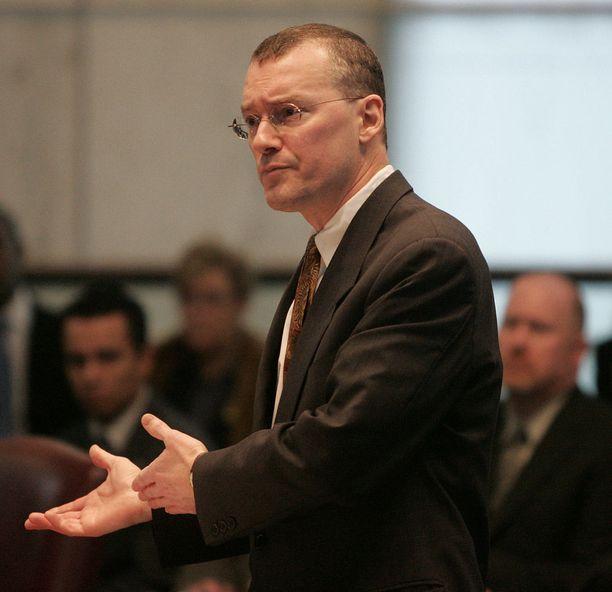 Ohikulkijat löysivät asianajaja David Buckelin kuolleena puistosta New Yorkissa. Kuva vuodelta 2006.