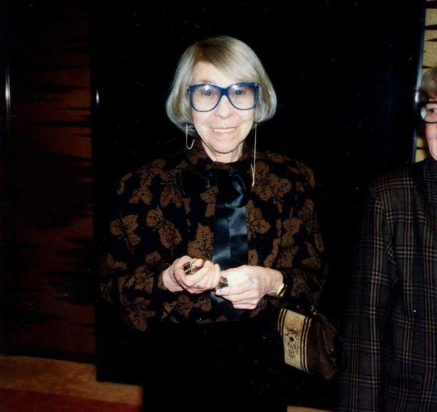 Rakastettu Tove Jansson kuoli vuonna 2001.