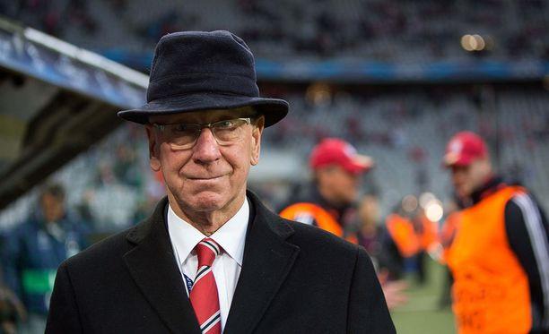 Bobby Charlton täyttää tänään 80 vuotta.