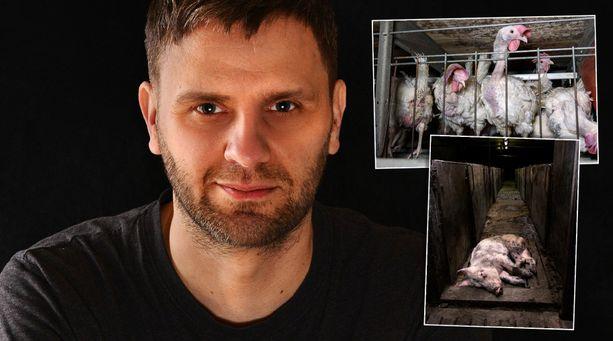 Kristo Muurimaa oli kuvannut tuotantotilalla ensimmäistä kertaa syksyllä 2006.