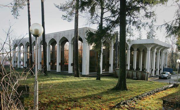 Helsinkiin rakennettu Irakin lähetystö oli ensimmäinen laatuaan Länsi-Euroopassa.