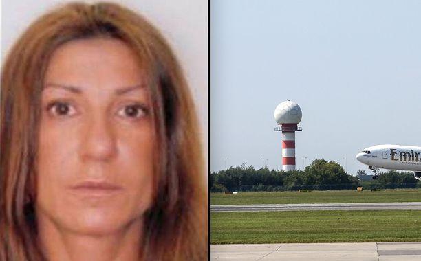 Svetlana Hytti sai tuomion Helsingin käräjäoikeudessa. Hän jäi kiinni Varsovan lentokentällä Puolassa. Kuvituskuva.