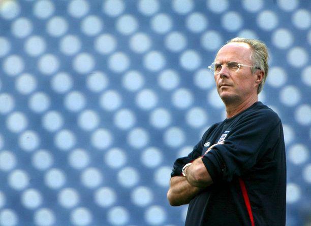 Sven-Göran Eriksson ei onnistunut Englannin maajoukkuetta valmentaessaan voittamaan kotimaataan Ruotsia.