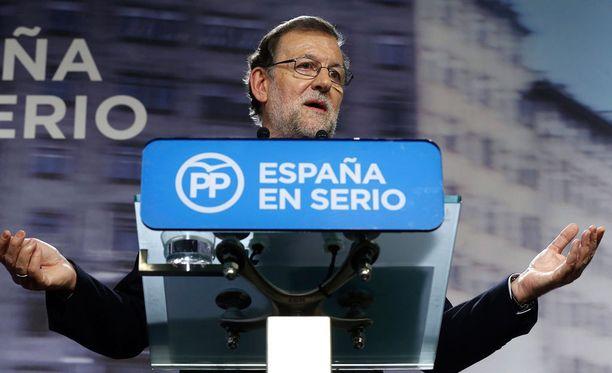 Mariano Rajoy aloittaa pian hallitustunnustelut.