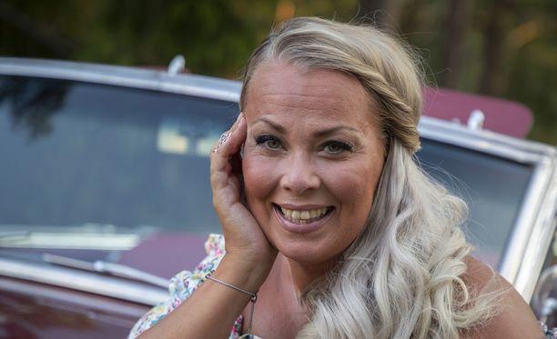Johanna Pakonen on keikkaillut jo kaksikymmentä vuotta.