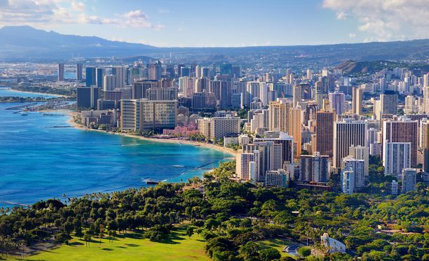 Jos tahdot upeita hiekkarantoja, komeita aaltoja ja hyvää kasvisruokaa, suuntaa Honolululuun, Havaijille.