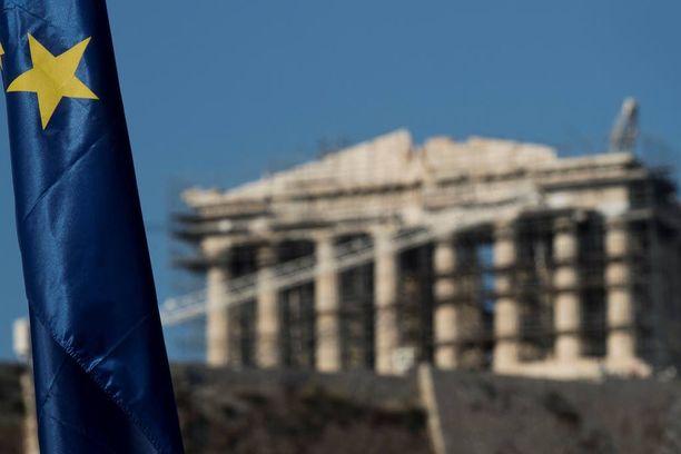 Ateenassa sijaitseva Parthenon-temppeli on peräisin antiikin Kreikan ajoilta.