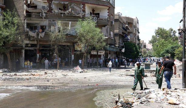 Syyrian pääkaupungissa Damaskoksessa räjähti kolme autopommia heinäkuun alussa.