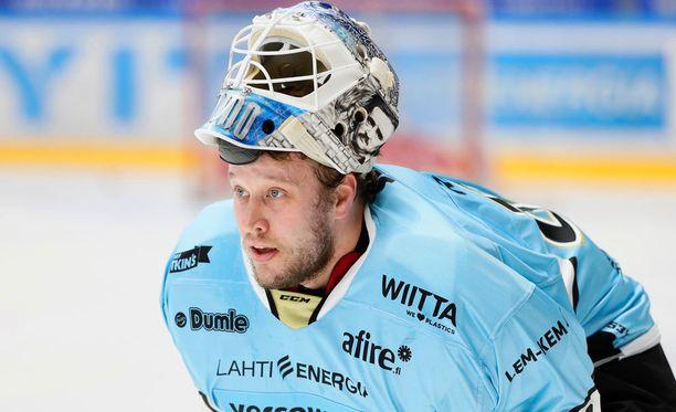 Karri Rämö torjui 36 kertaa Pelicansin maalilla.