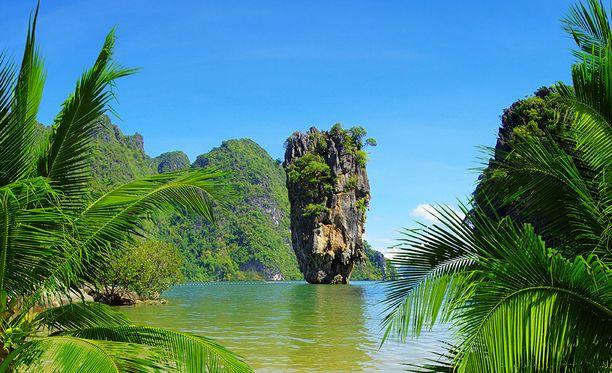 Phuketin ympäristöstä löytyy mitä uskomattomimpia maisemia.