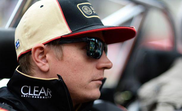 Kimi Räikkönen ei ymmärtänyt Mark Sladen ohjeita.