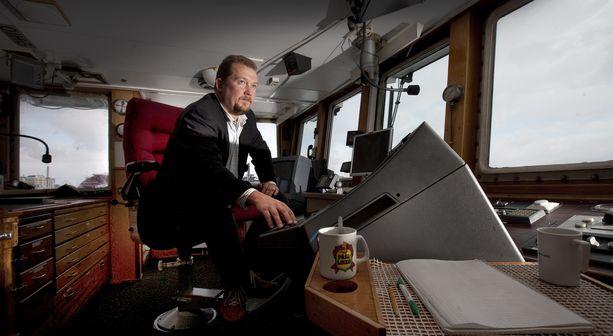 Joakim Håkansin mukaan Airiston Helmelle myydyissä aluksissa ei ole mitään sotilaallista.