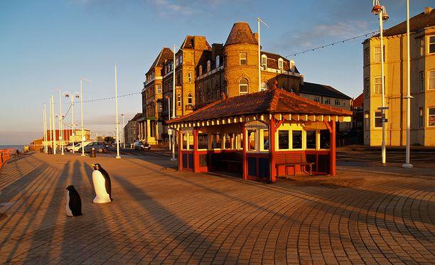 Redcar on suosittu rantalomakaupunki Pohjois-Englannissa.