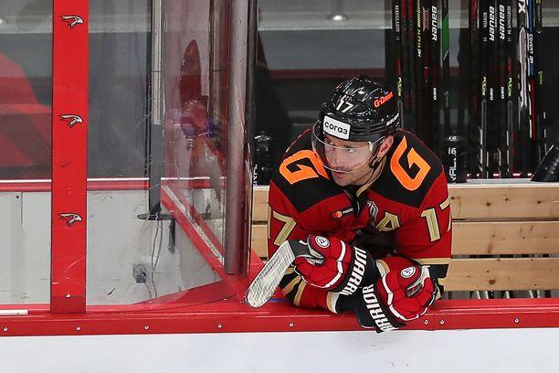 Omskin Ilja Kovaltshuk on KHL:n kirkkaimpia tähtihyökkääjiä.