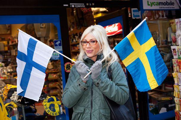 Jussinniemi on ylpeä suomalaisista ja ruotsalaisista juuristaan.