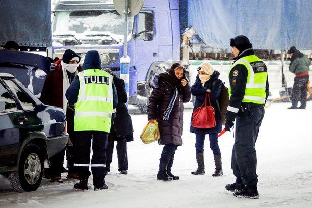 Tähän asti itärajalle tulleet turvapaikanhakijat ovat ylittäneet Suomen rajan Lapissa (kuvassa Salla).