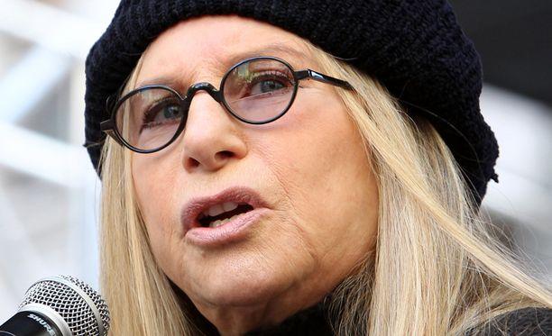 Barbra Streisand on kritisoinut Donald Trumpia varsin avoimesti.