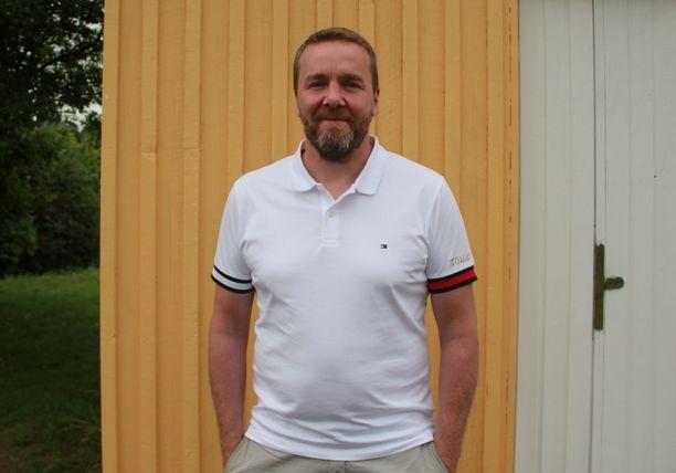 Petri Varis sai idean kävelytempaukseensa Lapin-reissulla.