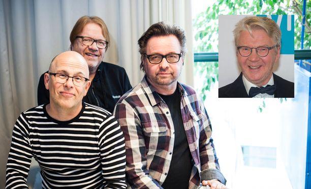 Pirkka-Pekka Petelius liittyy illan suorassa lähetyksessä Kummeli-kokoonpanoon.