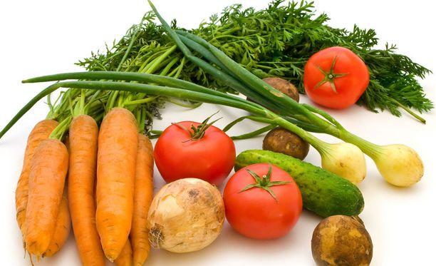 Folaattia saa esimerkiksi tuoreista kasviksista.