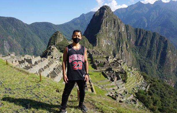 Odotus palkittiin. Jesse Katayama pääsi lopulta vierailemaan Machu Picchussa, ainoana turistina.